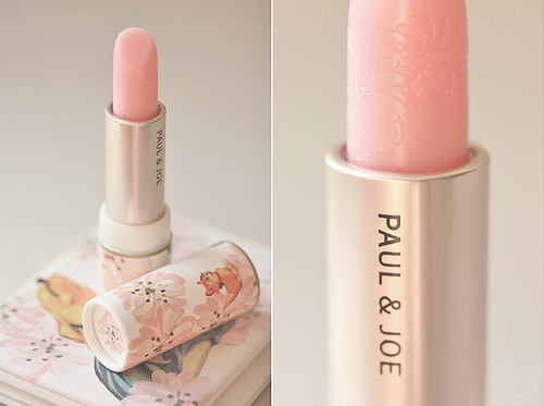alice in wonderland, lipstick, paul & joe, pink