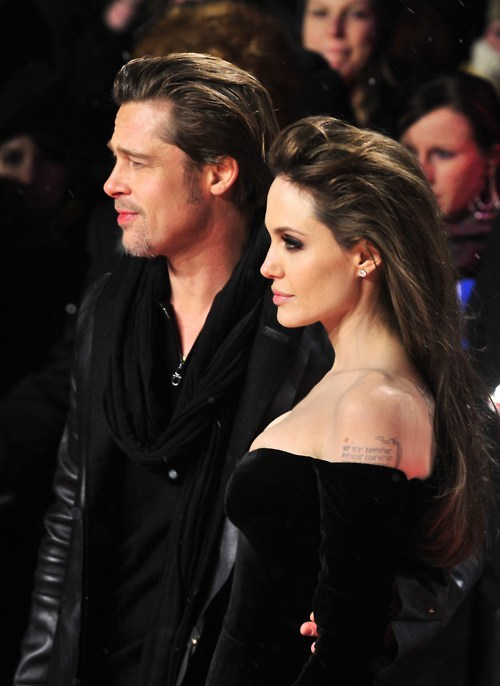 angelina jolie, brad pitt, couple, love, sexy