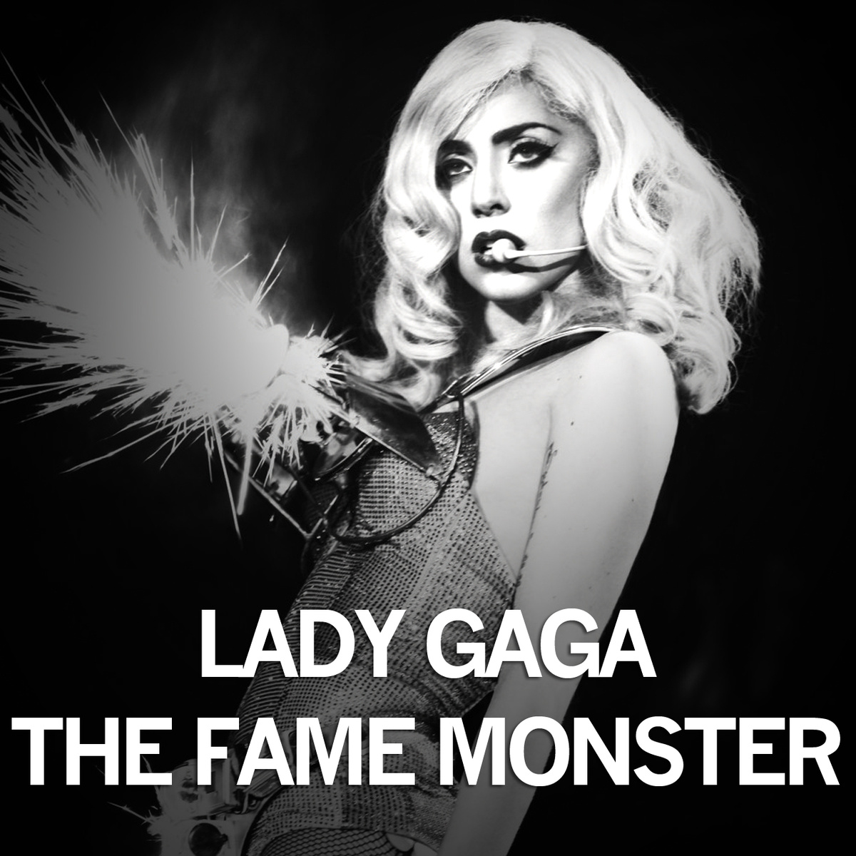 artwork, cover, lady gaga, monster ball, the fame monster