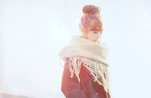 asian beautiful cute hairstyle scarf  inspiring picture on Favim  Cute Hairstyles Scarves
