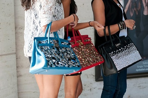 bag, black, blue, girls , glitter