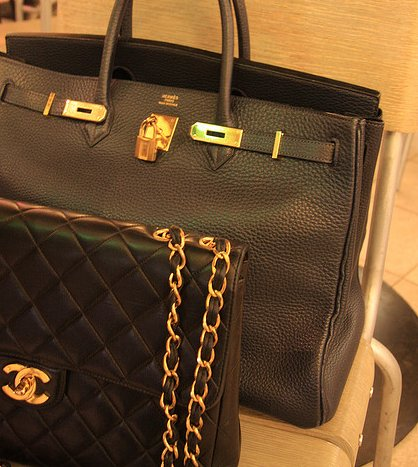 bag, black, chanel, handbag, hermes, purse