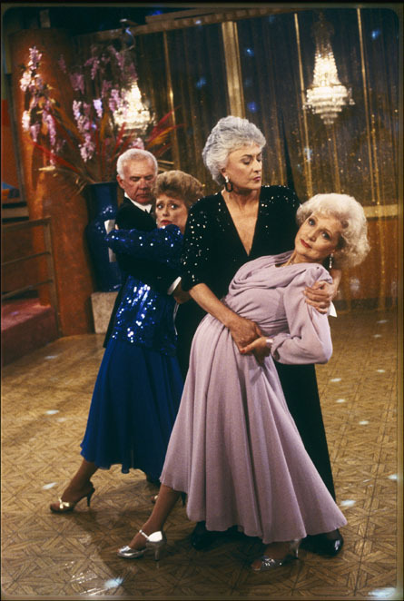 ballroom dancing, bea arthur, betty white, blanche devereaux, couple, couples, dance, dancing, dorothy zbornak, golden girls, rose nylund, rue mcclanahan, the golden girls