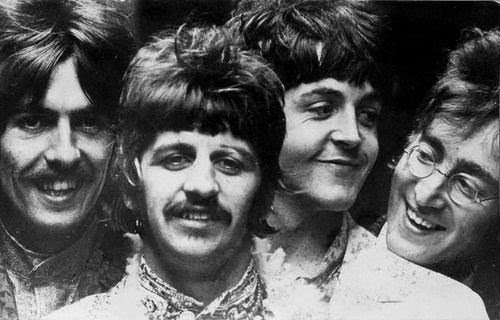 beatles, george harrison, john lennon, love, paul mccartney