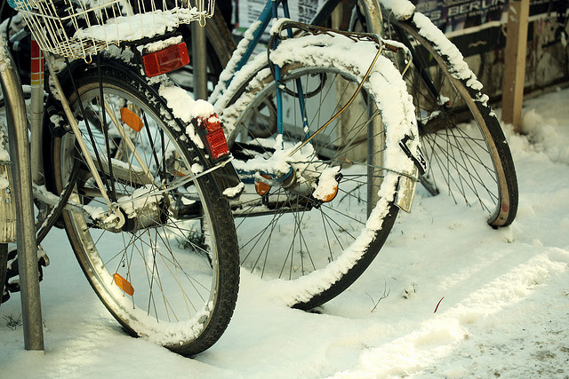 berlin, bicycle, bikes, city, coldness