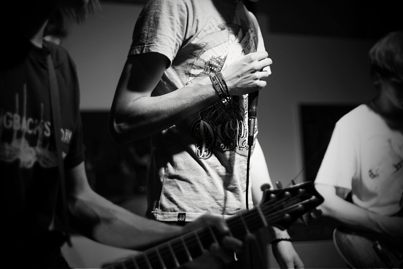 black and white, concert, live, rock, rock band