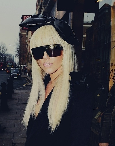 black, blonde, brown, city, gaga