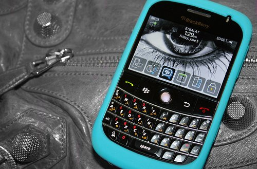 blackberry, blue, fashion