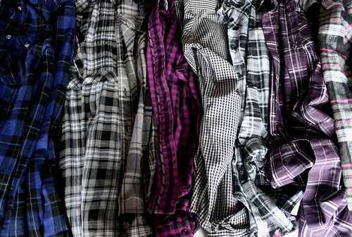 blue, checkered, fashion, flannel, photography