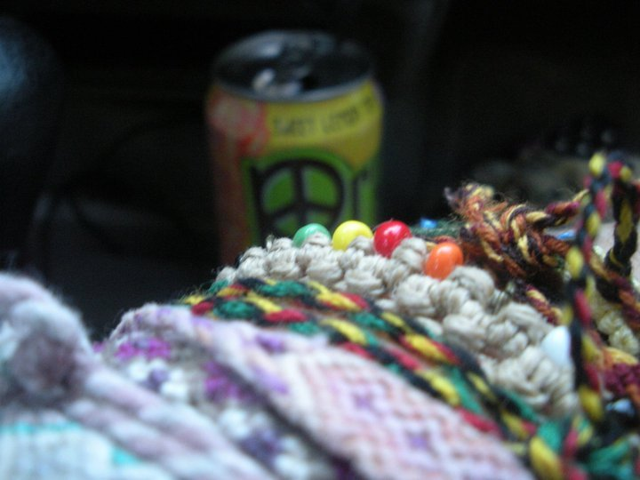 bracelets, colorful, peace tea