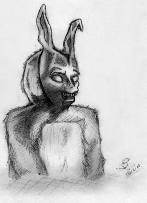bunny, donnie darko , drawing, frank, gsayour