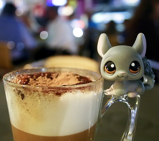 capuccino, coffee, cup, cute, lps