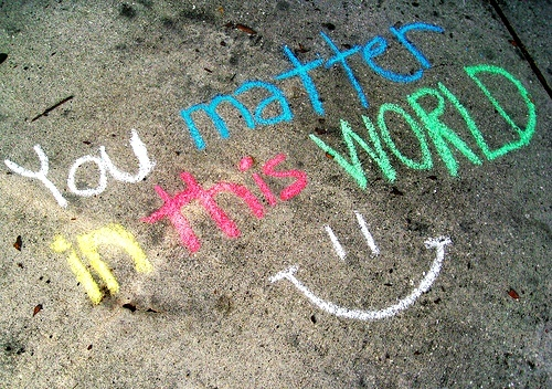 chalk, colors, matter, photography, smile