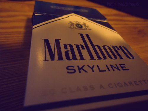 cig, cigarette, marlboro, menthol, photography, skylines, smoke, smoking, stoner