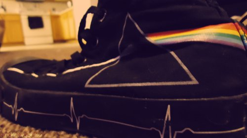 converse, dark side of the moon, music, photography, pink floyd