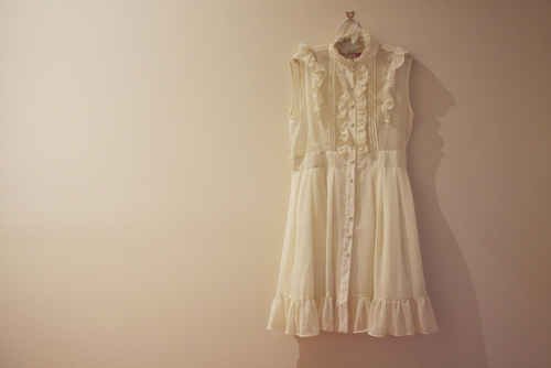 dress, mori, vintage