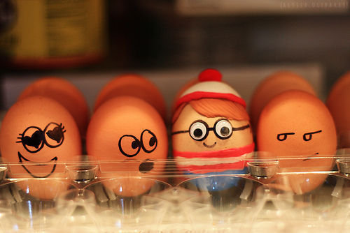 egg, waldo, where