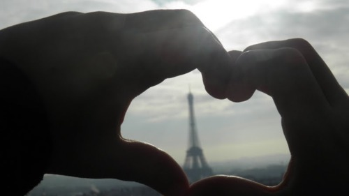 eiffel, france, hands, love, paris