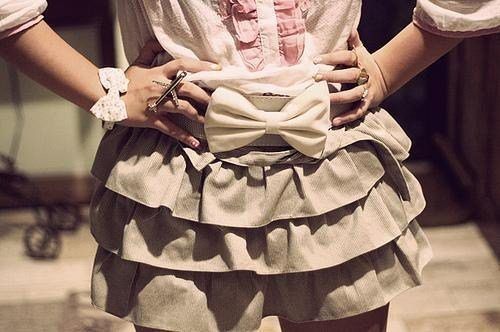 fashion, girl, girly, skirt, style, sweet
