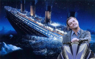 Titanic Leo dating a younger woman