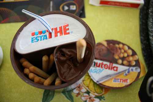 *o*, food, mmm, nutella