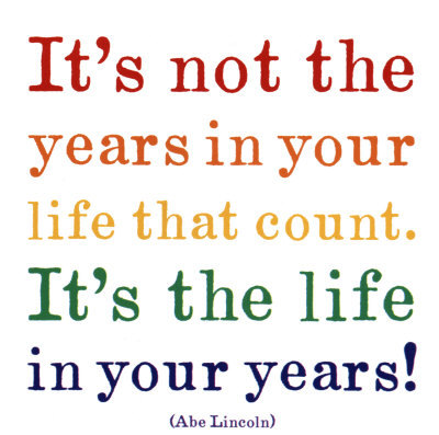 abraham lincoln, count, life, nice, quote