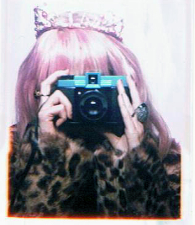 air, audrey kitching, camera, diana, leopard, lomo, pink