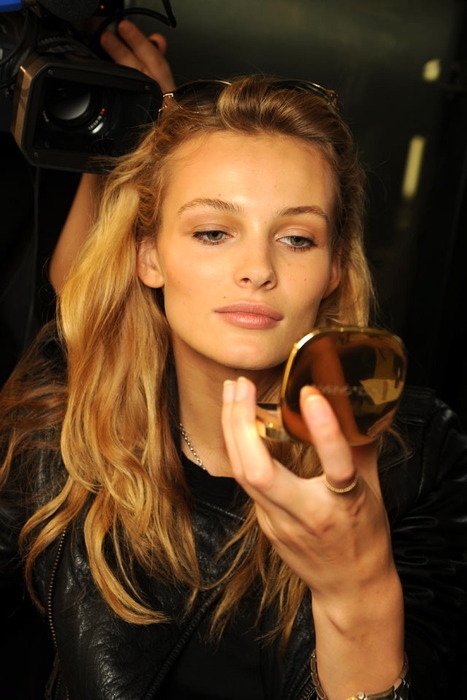 backstage, edita vilkeviciute, fashion, make-up