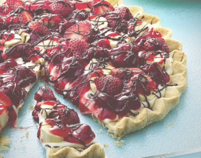 banana, chocolate, pizza, strawberry