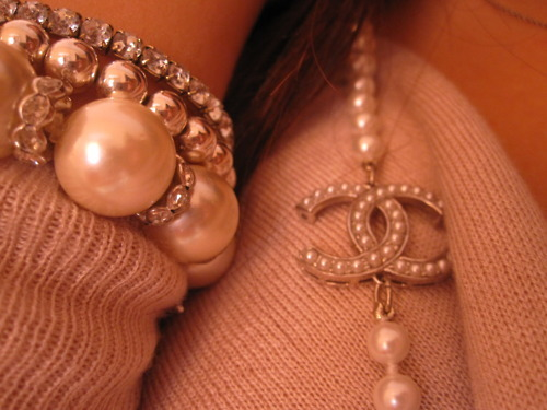 beautiful, bracelet, chanel, chanel necklace, cute