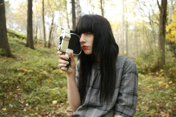 beautiful, camera, eww, girl, hair