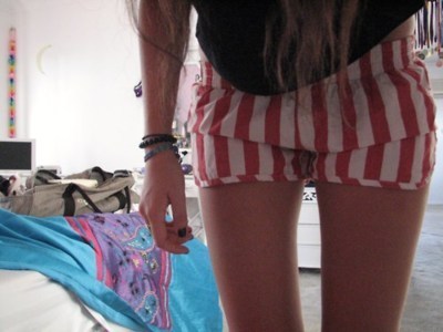beautiful, cute, fashion, girl, hair, hand, legs, nails, perfect, pretty, room, shorts