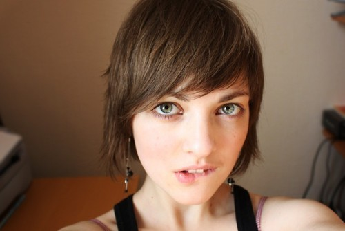 beautiful, girl, photography, pretty, pretty girl, sexy, short hair