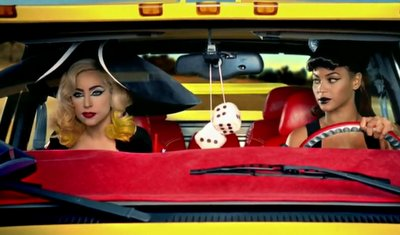 beyonce, gaga, girls, lady, lady gaga, lips, make, red, telephone, the fame monster, yellow