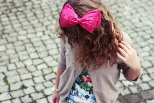 bow, cute, fashion, girl, pink