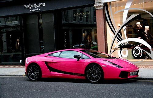 car, designer, fashion, lambo, pink