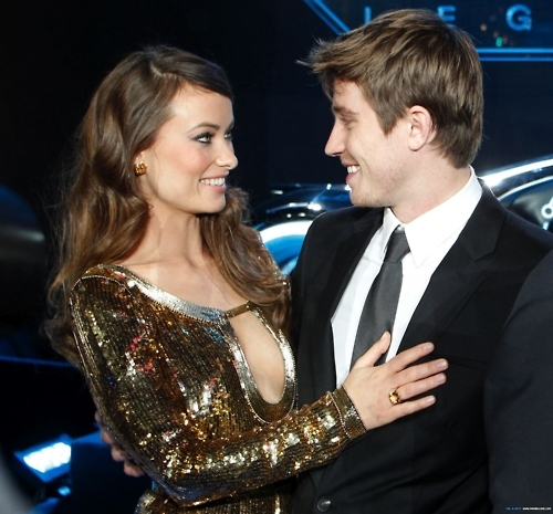 couple, cute, fashion, garrett hedlund, glamour, gorgeous, love, olivia wilde, photo, photography, pretty, quorra, sam flynn, tron, tron legacy