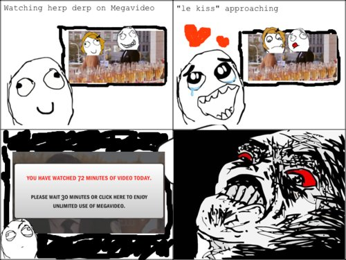 cute, funny, gossip girl, heart, megavideo, rage comics, twilight rage