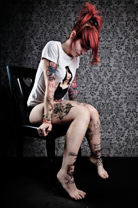 editorial, girl, jane doe, red hair, suicide girl