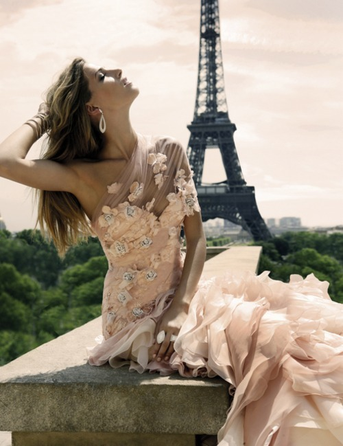 eiffel tower, fashion, model, paris