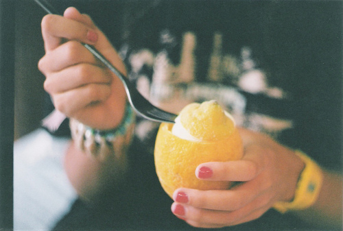 girl, hand, lime, photography