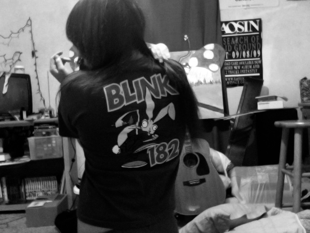 182, and, black, blink, blink-182
