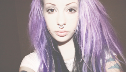 alternative, angelica sehlin, beauty, lilac, lilac hair