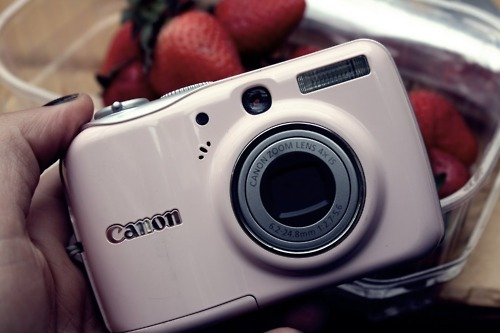 arla aabba, blogger, camera, canon, flash, girly, photo, photographer, pink, pinkish, pretty, strawberries, strawberry, zoom