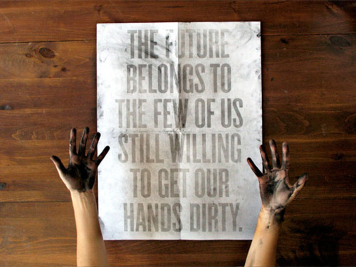 art, dirty, hands, text