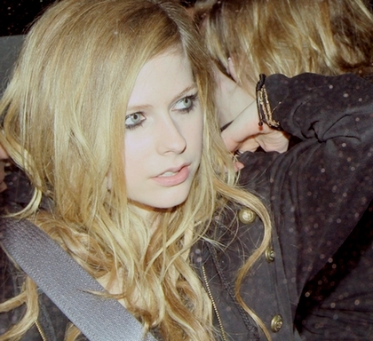 avril lavigne, blonde, canada, canadian, cute, eyes, singer