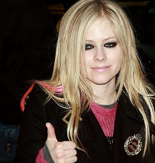 avril lavigne, blonde, cute, girls dress, hair