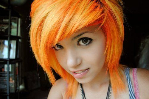beautiful, beleza, crazy, girl, hair, hayley williams, linda, orange, pretty, rock