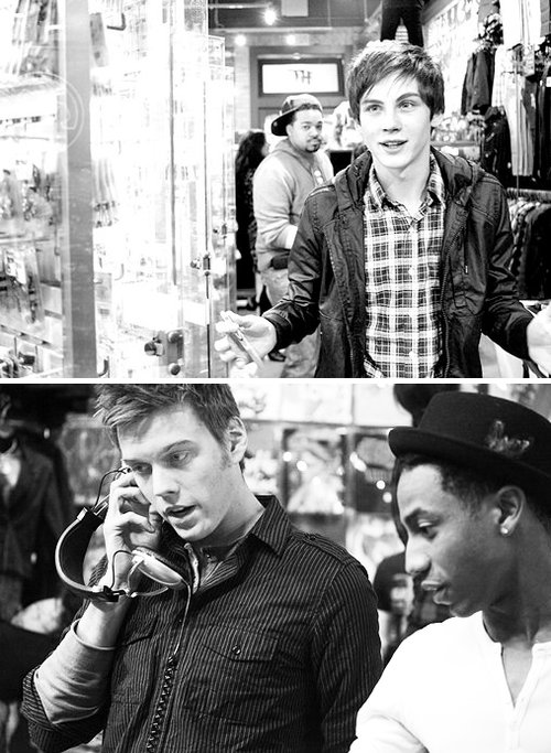 black and white, boy, cute, lerman, logan