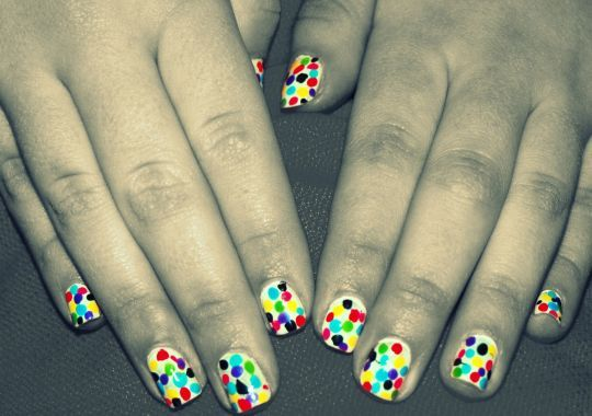 black, bleu, color, colorful, colors, cute, fingers, girl, green, grey, hand, hands, nails, pink, red, sullie, yellow